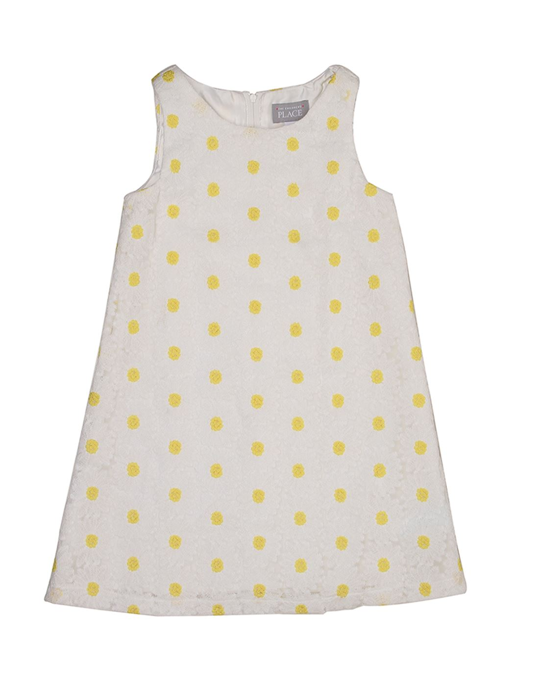 The Children's Place Girls Casual Wear Polka Print Dress