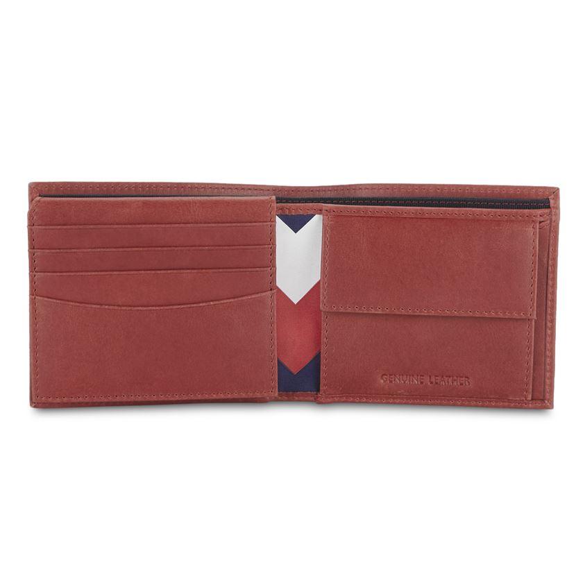 Tommy Hilfiger Men's Leather Multicard Coin Wallet