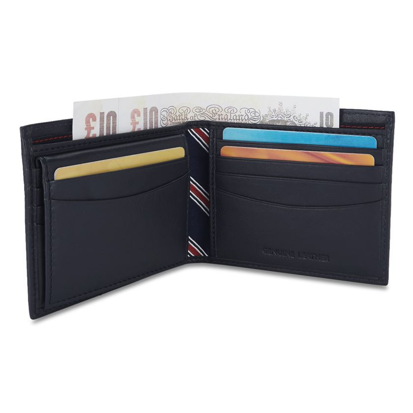 Tommy Hilfiger Men's Leather Passcase Wallet