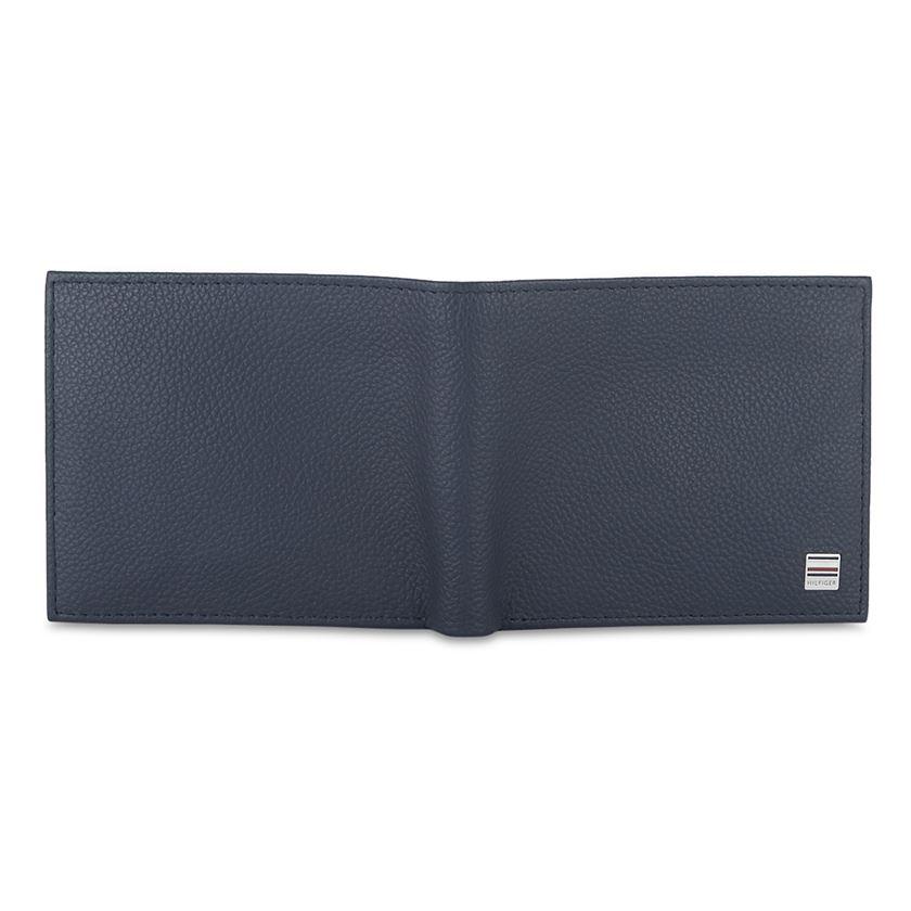 Tommy Hilfiger Leather Men Blue Fold Wallet