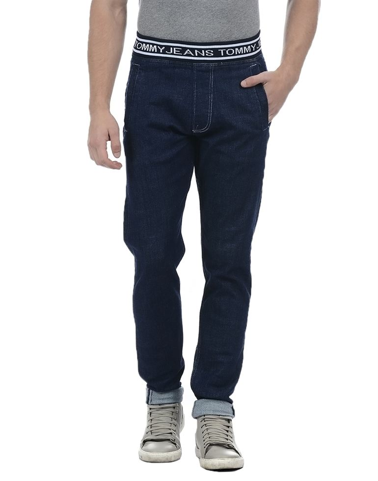 Tommy Hilfiger Men Casual Wear Solid Jean