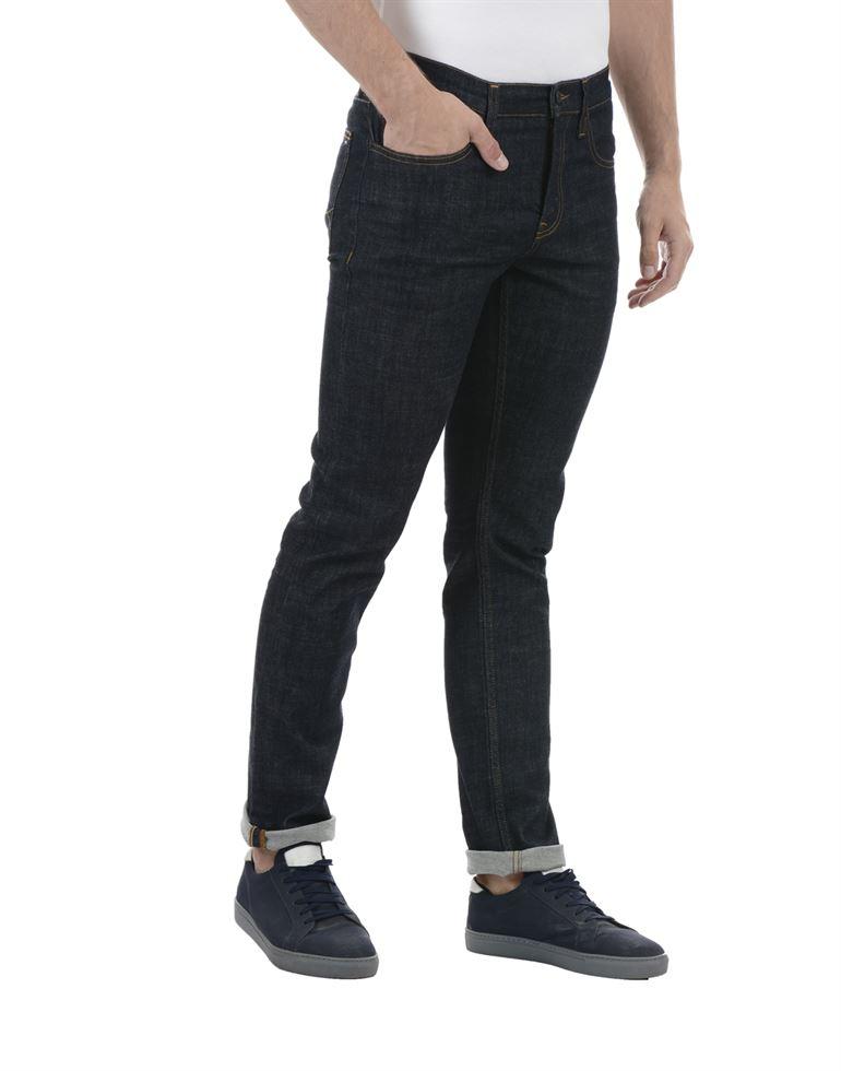 Tommy Hilfiger Men Casual Wear Dark Blue Jeans
