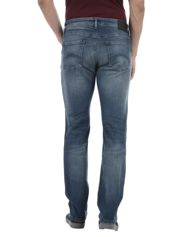 Tommy Hilfiger Men Casual Wear Blue Jeans