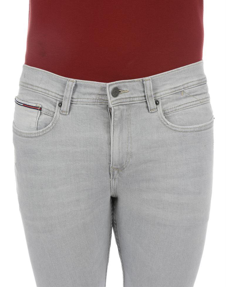 Tommy Hilfiger Men Casual Wear Grey Jeans