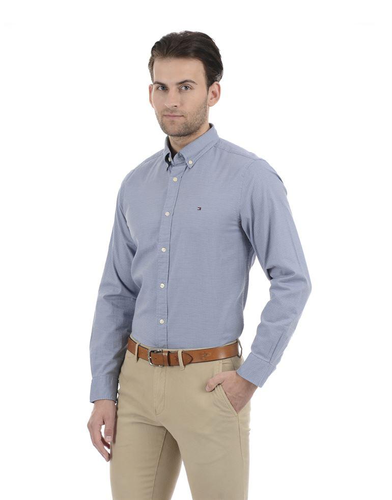 Tommy Hilfiger Men Formal wear Blue Shirt