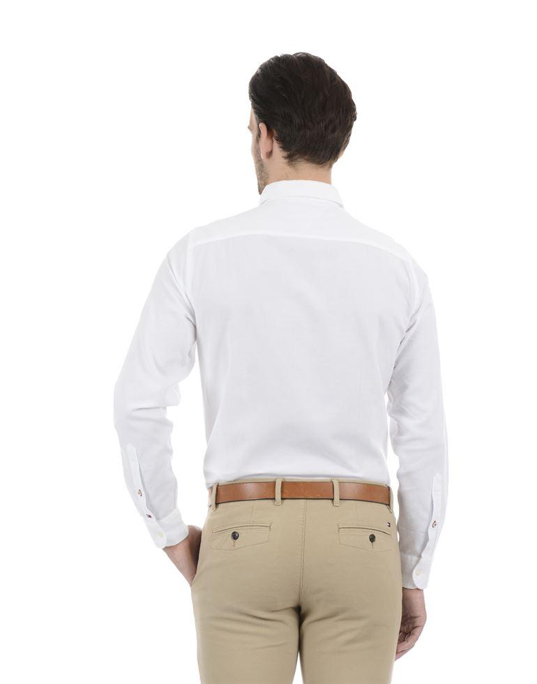 Tommy Hilfiger Men Formal Wear White Shirt
