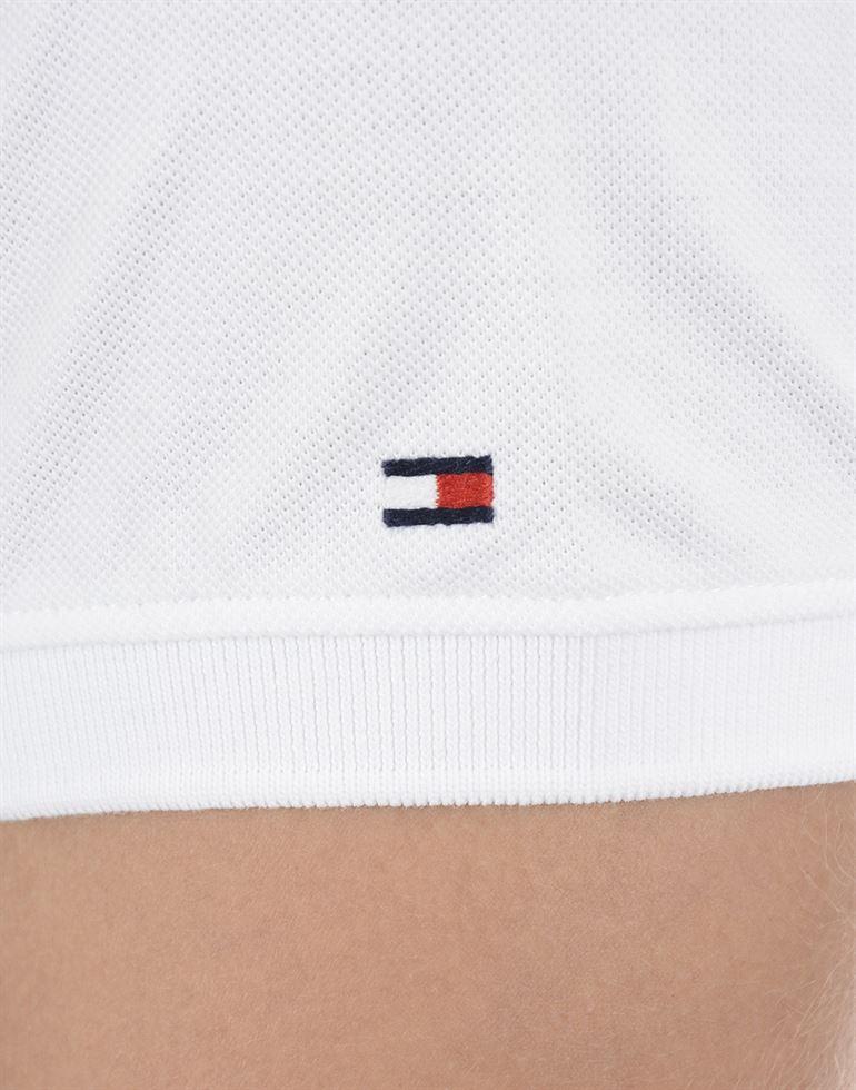 Tommy Hilfiger Men Casual Wear White T-Shirt