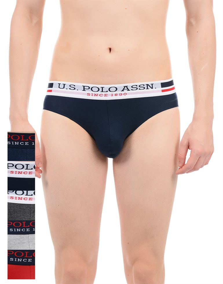 U.S. Polo Assn. Men Solid Brief