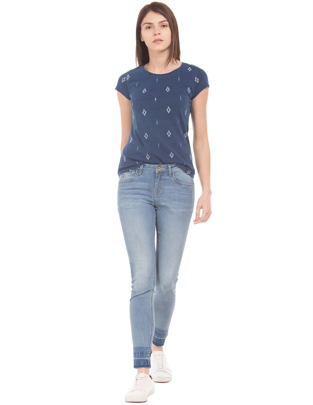 U.S. Polo Assn. Women Solid Casual Wear Jeans