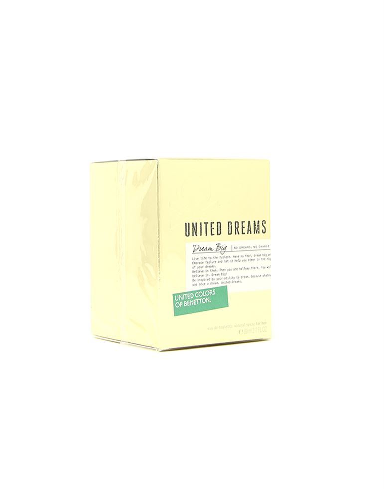 United Colors of Benetton United Dream Big EDT Spray 2.7 oz For Women 80ml