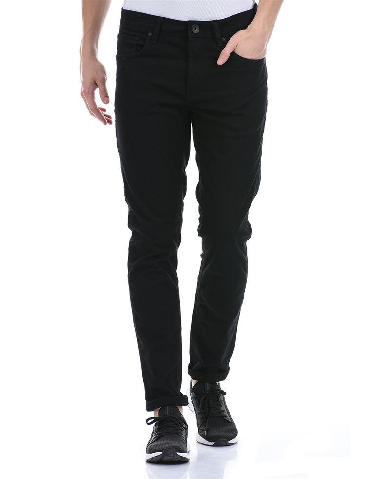 United Colors of Benetton Men Casual Wear Black Jeans