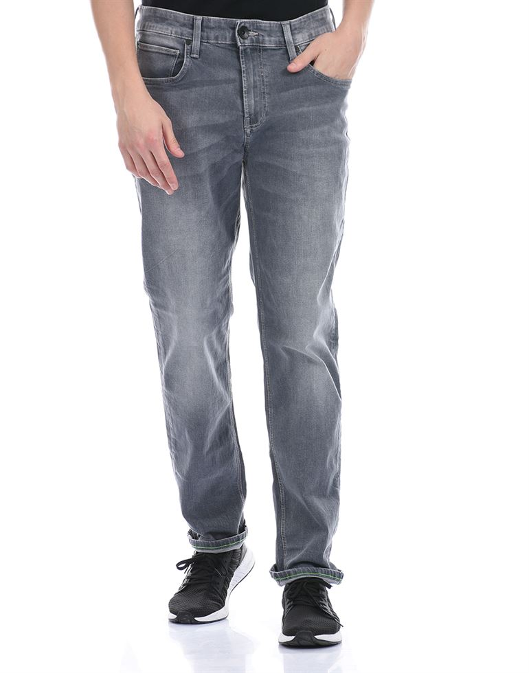 United Colors of Benetton Men Casual Wear Grey Jeans