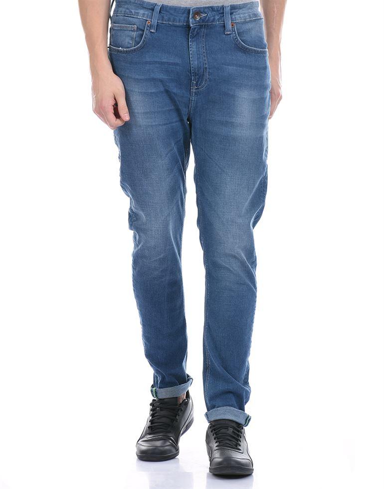 United Colors of Benetton Men Casual Wear Blue Jeans