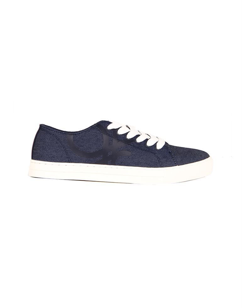 United Colors of Benetton Men Blue Sneakers
