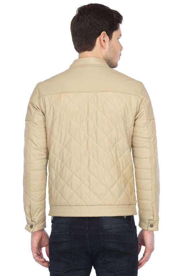 United Colors of Benetton Men Casual Wear Solid Jacket