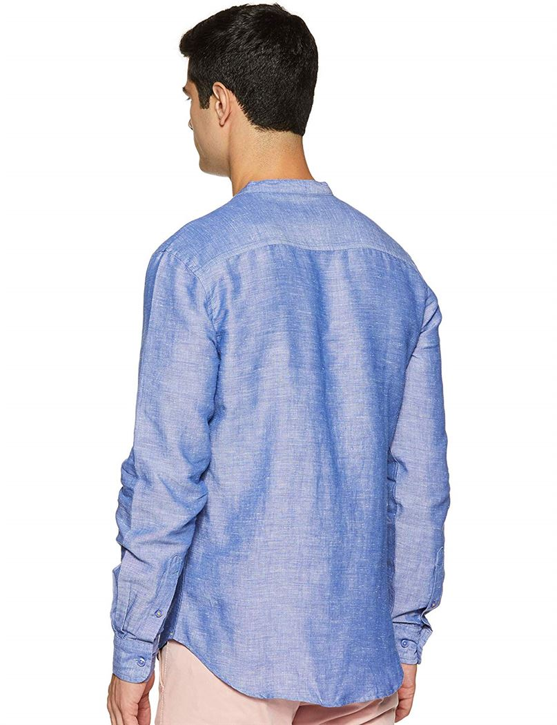 United Colors of Benetton Men Casual Wear Solid Shirt