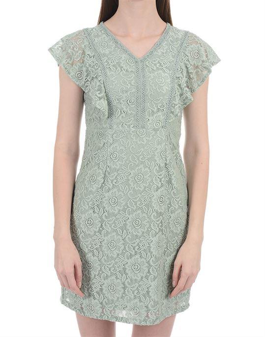 Zink London Women Casual Wear Lace Dresses