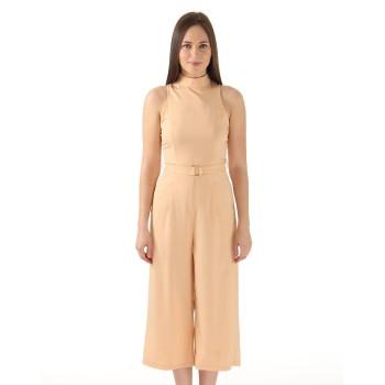 Ax Paris Women Casual Wear Peach Jump Suit