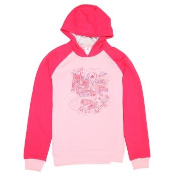 Adidas Girls Casual Wear Pink Sweatshirt