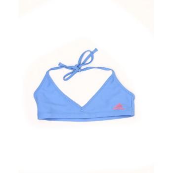 Adidas Girls Swim Wear Blue Swim Suit