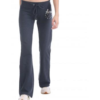 Aeropostale Women Casual Wear Navy Blue Track Pant