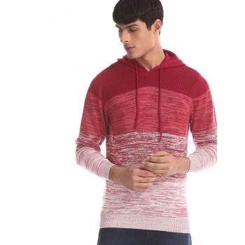 Aeropostale Men Casual Wear Color Block Sweatshirt