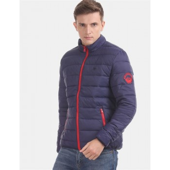 Aeropostale Men's Casual Wear Quilted Jacket