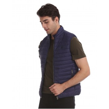 Aeropostale Men's Casual Wear Gilet Jacket
