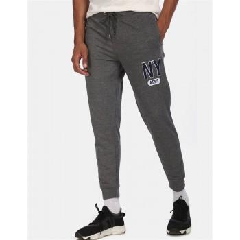Aeroppostale Men Casual Wear Grey Jogger
