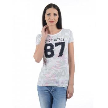 Aeropostale Women Casual Wear Graphic Print T-shirt