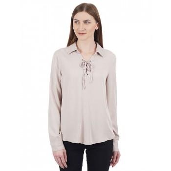 Aeropostale Women Solid Casual wear Shirt