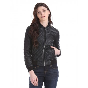 Aeropostale Women's Casual Wear Quilted Jacket