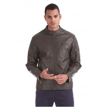 Aeropostale Men's Casual Wear Biker Jacket