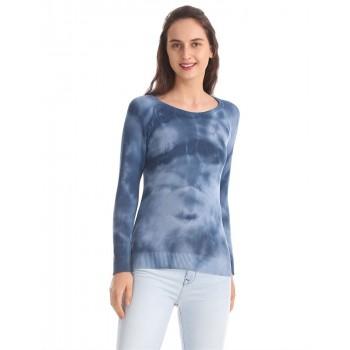 Aeropostale Women Casual Wear Blue  Sweater