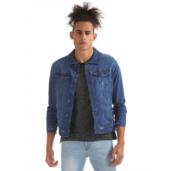 Aeropostale Men's Casual Wear Denim Jacket