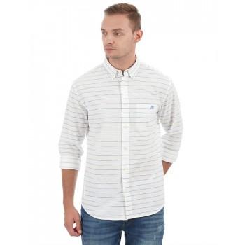 Aeropostale Men Casual Wear Striped Shirt