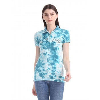 Aeropostale Women's Casual Wear Polo T-Shirt