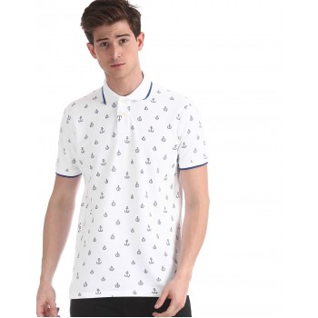 Aeropostale Men's Casual Wear Polo T-Shirt