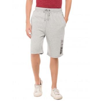 Aeropostale Men Casual Wear Grey  Regular Shorts