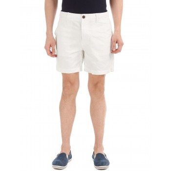 Aeropostale Men Casual Wear White  Shorts