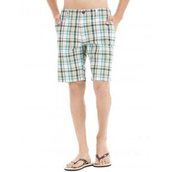 Aeropostale Men Casual Wear Blue  Regular Shorts