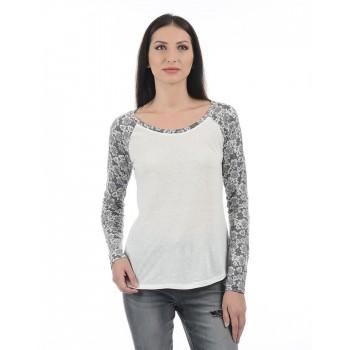 Aeropostale Women Casual Wear Printed T-shirt