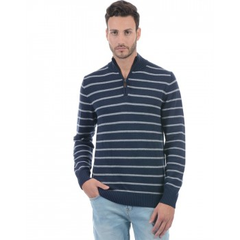 Aeropostale Men Striped Casual wear Pullover