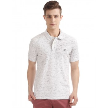 Aeropostale Men Casual Wear Textured T-Shirt