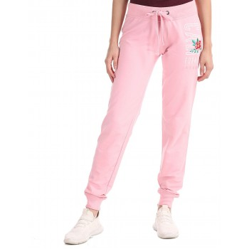 Aeropostale Women Casual Wear Solid Track Pants