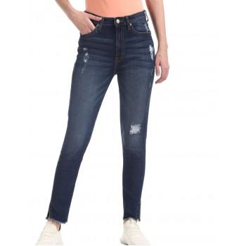 Aeropostale Women Casual Wear Solid Jeans