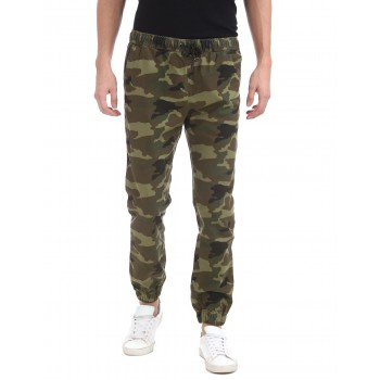 Aeropostale Men Casual Wear Military Camouflage Trouser