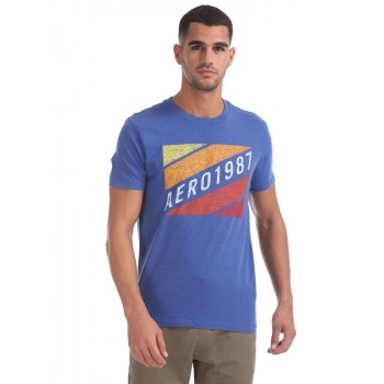 Aeropostale Men Casual Wear Graphic Print T-Shirt