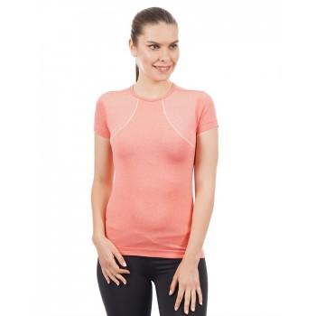 Amante Women Sports Wear Self Design T-Shirt