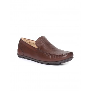 Arrow Footwear Men Brown Slip On Boat Shoes
